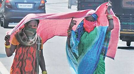 Odisha sizzles in the summer heat