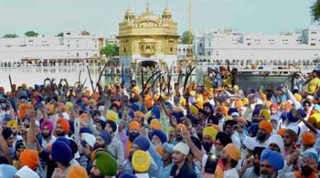 Punjab Police, Operation Bluestar, Operation Bluestar anniversary, Police crackdown, Radical leaders detained, Shiromani Akali Dal, SAD(A) leaders arrested, Golden Temple, Amrik Singh, Amritsar, United Akali Dal arrested, Bathinda, Patiala, Dal Khalsa,