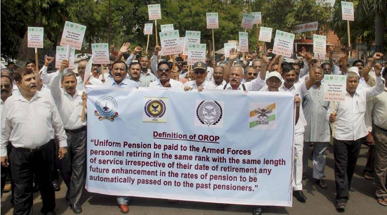 One Rank, One Pension, orop, manohar parrikar, defence ministry, ex-servicemen, ex-armymen, army, armymen, latest news, parrikar