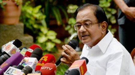 Cong distances itself from P Chidambaram's Rushdie book remark