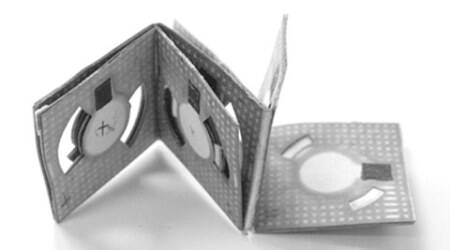 Using origami, engineers develop bacteria-powered battery made ofpaper