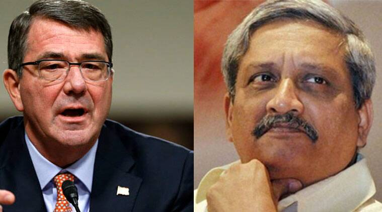 Manohar Parrikar, Ashton B. Carter, Narendra Modi government, DRDO, indian express column, US Defence Secretary, C. Raja Mohan column, indian express column