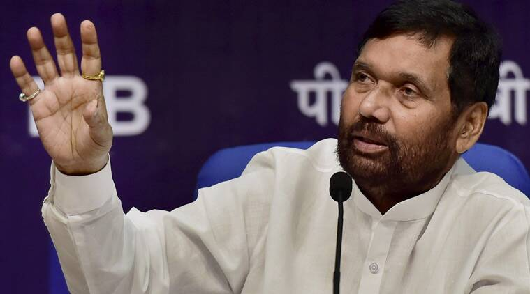 Union Minister of Consumer Affairs, Food and Public Distribution, Ram Vilas Paswan (Source: PTI Photo)