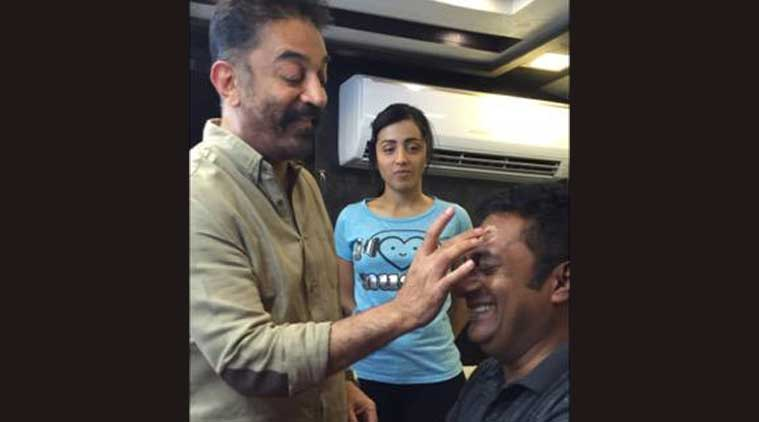 Kamal Haasan, actor Kamal Haasan, Kamal Haasan make up artist, prakash raj, prakash raj pics, entertainment news