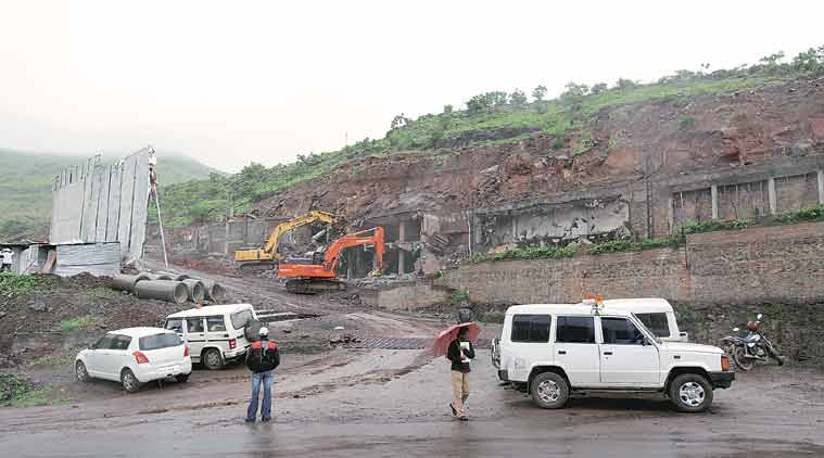 pune hills, hill cutting, illegal hill cutting, pune illegal hill cutting, hill, pune hill, pune news, india news, pune news