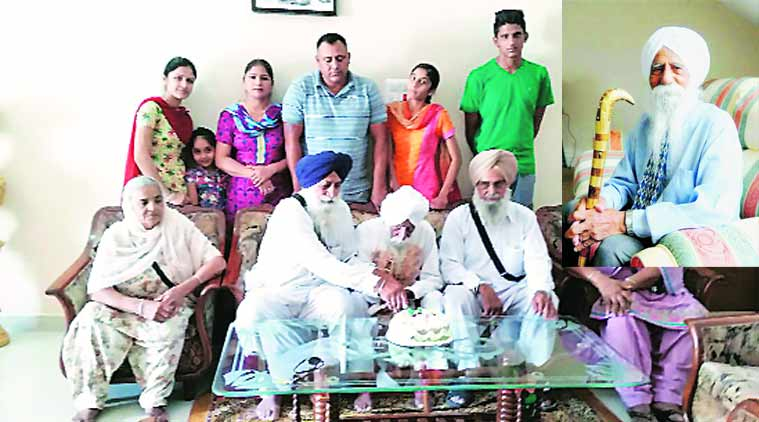 oldest indian, europes oldest indian, europes oldest punjabi, oldest punjabi, punjabi grandfather birhday, punjabi birthday, whiskey, punjabi news, punjabi lifestyle, chandigarh news