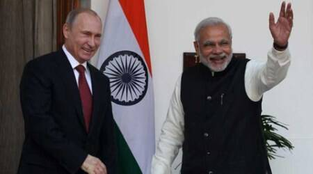 russia, vladimir putin, russia sco, russia brics, brics 2015, Narendra Modi, Pm Modi, Modi Russia Tour, Modi Russia visit, Modi BRICS summit, 2015 BRICS summit, Modi central Asia tour, Modi in Uzbekistan, Modi in Russia, Vladamir Putin, india news, latest news, indian express