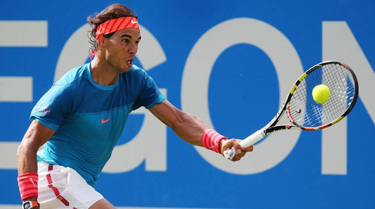 Rafael Nadal Faces Shock First Round Exit At Queen S Club Sports News The Indian Express