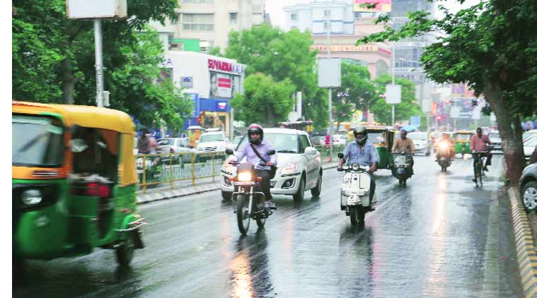 rain, monsoon, ahmedabad monsoon, gujarat rain, Arabian Sea, India Meteorological Depart-ment, ahmedabad news, city news, local news, gujarat news, Indian Express