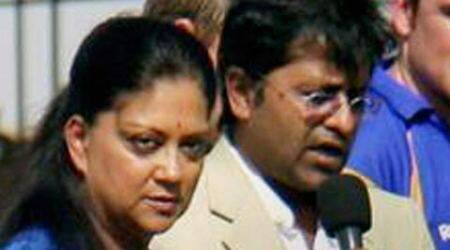 Lalit Modi row: State BJP hedges bets on Vasundhara Raje