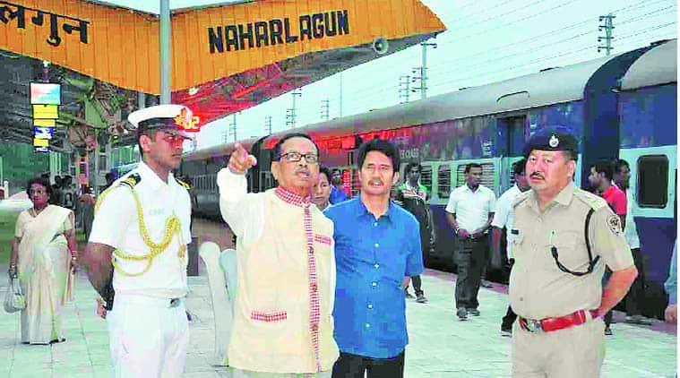 Jyoti Prasad Rajkhowa, Jyoti Prasad Rajkhowa Governor, Arunachal Pradesh Governor, Arunachal Pradesh new governor, Jyoti Prasad Rajkhowa, Naharlagun railway station, indian express