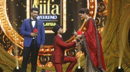 Ranveer's PDA, Deepika's shy silence: Our most favourite love story at IIFA 2015