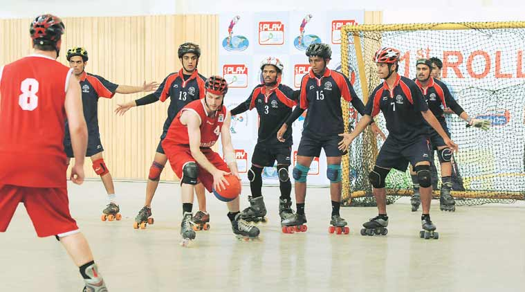 roll ball, sport, indian sports, roll ball sport, pune sport, skating, handball, basketball, new sport, india news, pune news