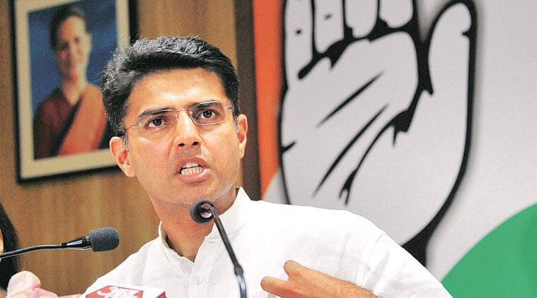 Sachin Pilot, Sachin Pilot on demonetisation, Congress, pilot protest against demonetisation, demonetisation effects, Pilot criticises demonetisation, Jaipur, Jan Akrosh march, demonetisation, indian express news