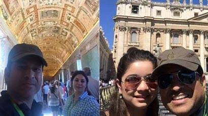 Sachin Tendulkar on European holiday with daughter Sara, wife Anjali