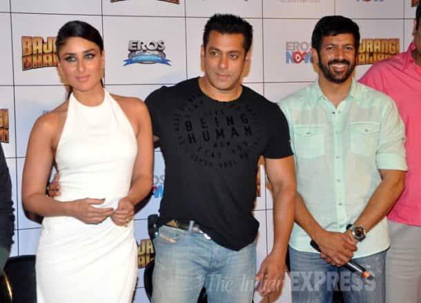 Salman Khan, Kareena Kapoor, Kabir Khan