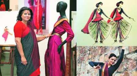 talk, delhi talk, costume, dancing costume, Sandhya Raman, Bharatanatyam costume, fashion, lifestyle