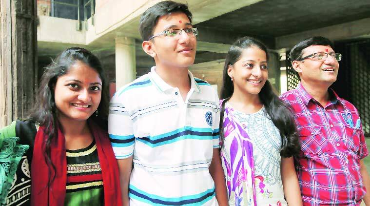 Satvik Mashkaria, Class XII topper, Mehul Mashkaria, GUJCET, Medical entrance test, Ahmedabad news