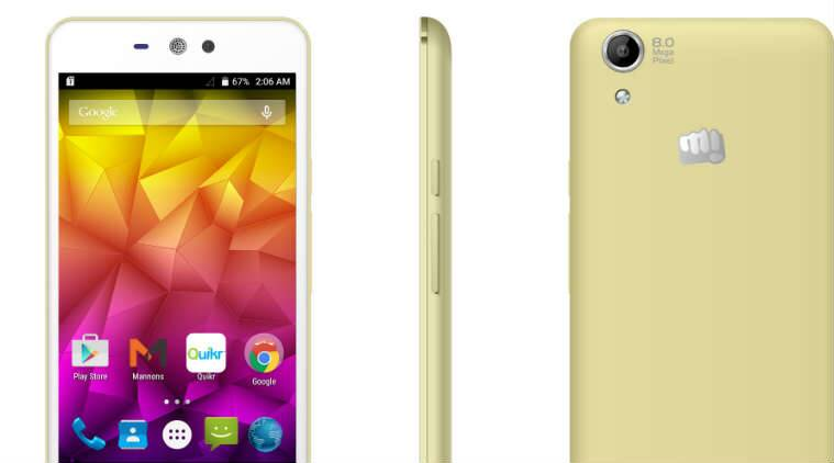Micromax Canvas Selfie Lens has just been launched. (Source: Micromax )