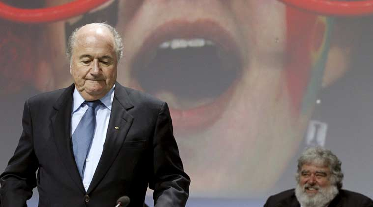 Sepp Blatter resigned as FIFA's President after he was re-elected.