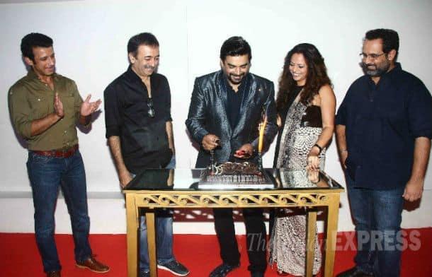 Madhavan, Sahraman Joshi, Raju Hirani