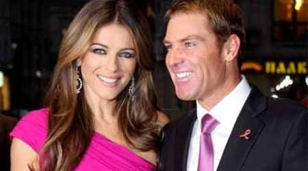 Relationship with Elizabeth Hurley was hard: Shane Warne
