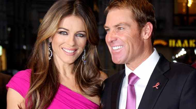 Sharne Warne, Elizabeth Hurley, Cricketer Sharne Warne, Actress Elizabeth Hurley, Sharne Warne Elizabeth Hurley Relationship, Sharne Warne Elizabeth Hurley Engagement, Sharne Warne Elizabeth Hurley Split, Elizabeth Hurley Movies, Entertainment News