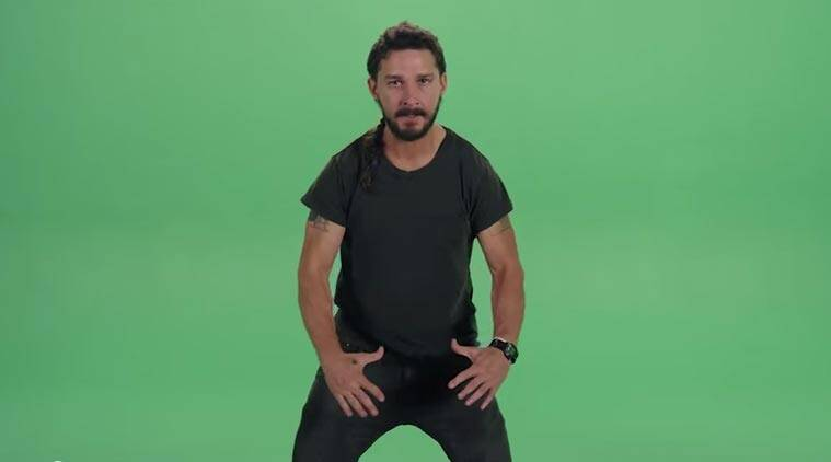 Shia Labeouf, actor Shia Labeouf, Frodo Baggins, Do It, Michael Jackson, Beat It, trending, trending video, viral, viral video