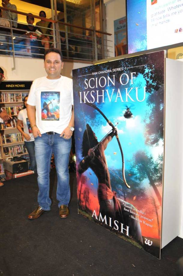 Amish Tripathi's latest book Scion Of Ikshvaku launched