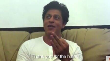 Shah Rukh Khan thanks his fans and followers on Twitter in an adorable video