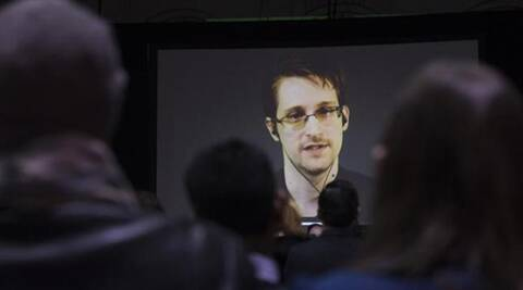Whistleblower Snowden accepts Norwegian prize for his work on 'right of privacy'