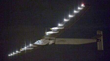 Solar Impulse 2 takes off from Nagoya to Hawaii