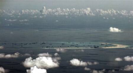 South China Sea, South Seas China, China, South china sea conflict, Spartly islands dispute, Meiji Reef, Mischief Island, Spratly Islands, Nansha Islands, South China Sea Land reclamation, Island building China, Beijing news, China news, Asia news, World news