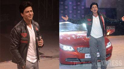 Shah Rukh Khan is so young and suave at a launch event