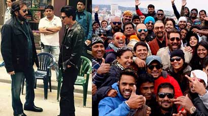 Shah Rukh Khan shoots with Vinod Khanna in Bulgaria for 'Dilwale'