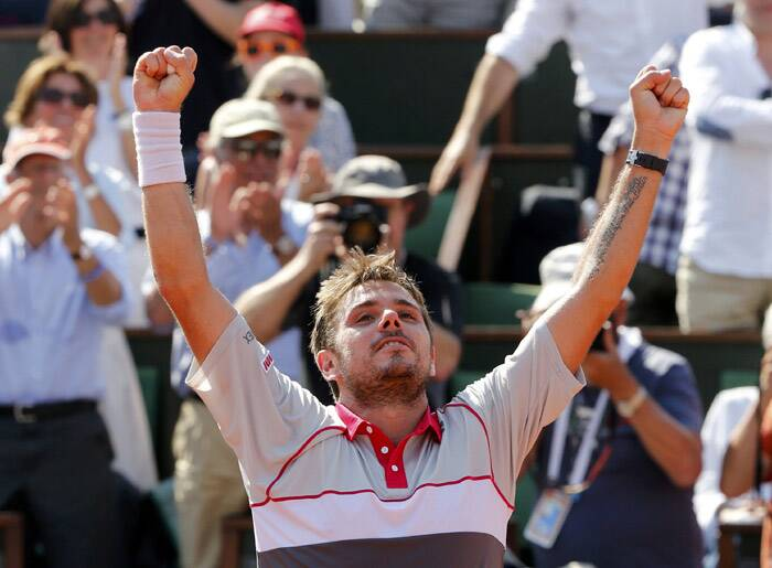 French Open, French Open 2015, French Open final, Stan Wawrinka, Jo-Wilfried Tsonga, Wawrinka, Tsonga, Wawrinka vs Tsonga, Tsonga vs Wawrinka, French Open photos, Tsonga vs Wawrinka photos, Tennis Photos, Tennis