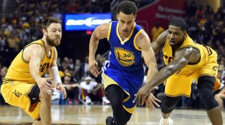 NBA Finals Game 4: Warriors regain golden touch, beat Cleveland Cavaliers 103-82 to tie series