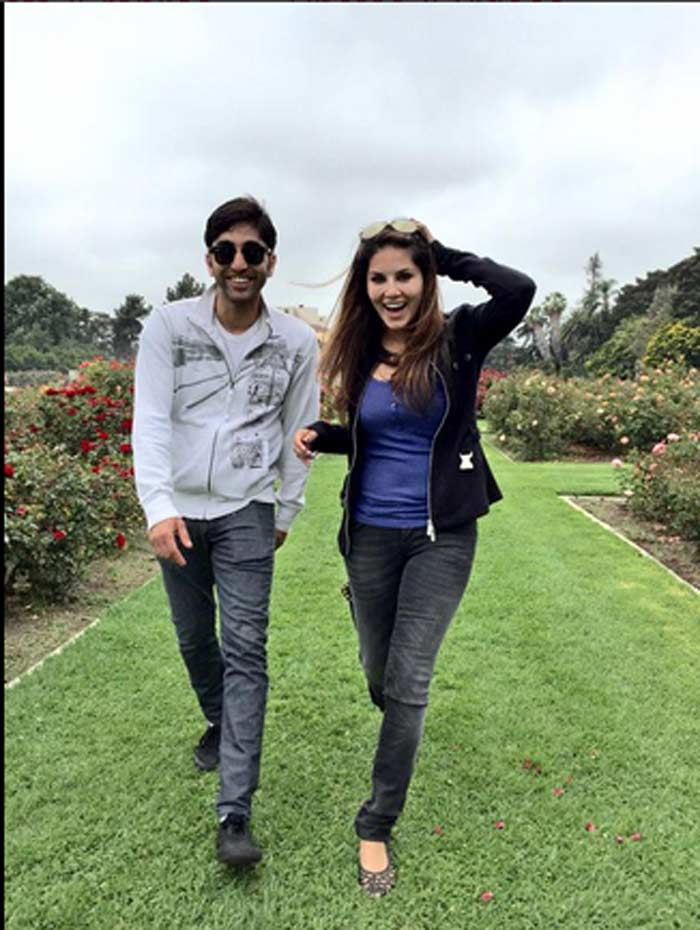 sunny leone, sunny leone brother, sundeep vohra, sunny leone brother pics, sunny leone sundeep vohra, daniel weber. daniel weber pics, daniel weber parents, daniel weber sunny leone, sunny leone brother pics, entertainment, sunny leone pics, sunny leone pictures, sunny leone images, bollywood