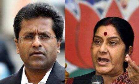 Lalit Modi, lalit modi row, Sushma Swaraj, lalit modi sushma, Sushma Swaraj husband, lalit modi BCCI, sushma husband Swaraj Kaushal, lalit modi news, lalit modi controversy, BJP, Congress, Indofil Industries, ipl lalit modi, lalit modi documents case, lalitgate, india news, Surjit S. Bhalla column, indian express column