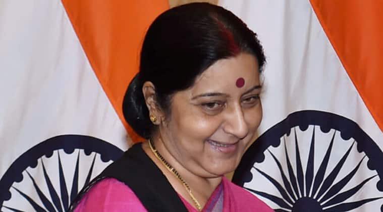 sushma swaraj, lalit modi, sushma daughter