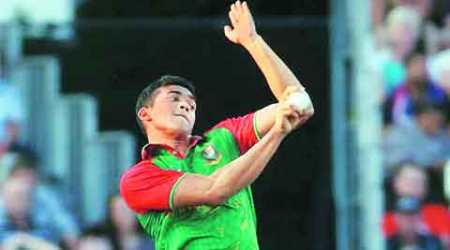 Taskin Ahmed: A tall, fast and handful poster-boy