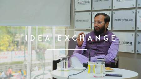 Prakash Javadekar Idea Exchange