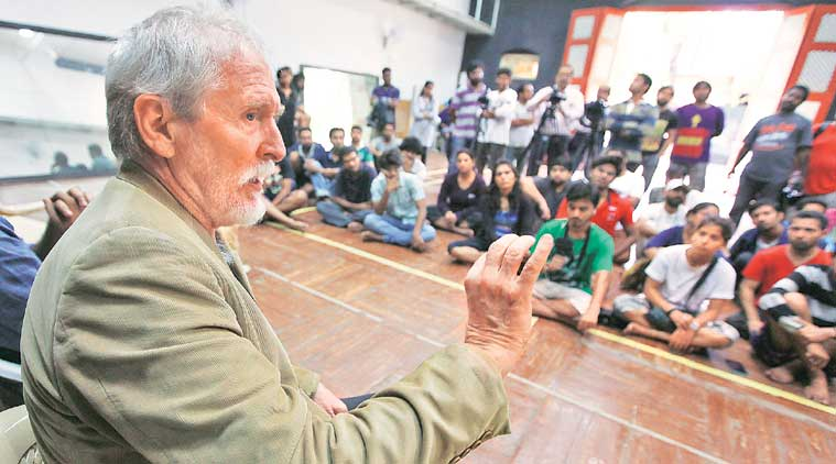 ftii, ftii chairman row, tom alter, actor tom alter, ftii strike, ftii protest, ftii student protest, gajendra chauhan, ftii chairman gajendra chauhan, ftii gajendra chauhan, narendra modi, arun jaitley, india news, pune news