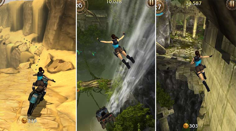 best mobile games, free mobile games for Android, free games on Android, Free games on Android new, Lara Croft on Android, Swipe Basketball 2, Rebus, Lara Croft: Relic Run, TRIALS FRONTIER, Detective Byomkesh Bakshy!, Games, Indian games, Technology, mobiles, smartphones, technology news