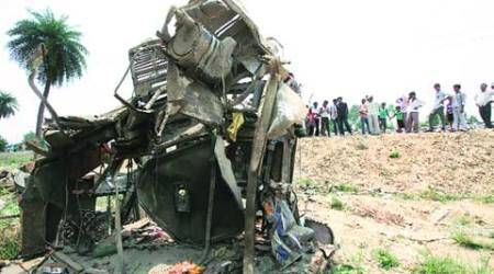 Unmanned crossing: One killed as train rams into truck at Barabanki