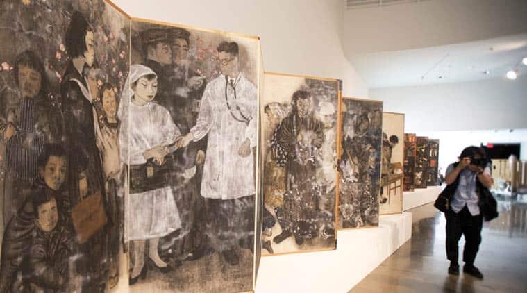 Japanese art on Hiroshima and Nagasaki atomic bombings ...