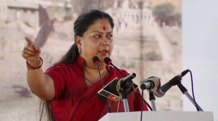 Vasundhara Raje, Swachh Bharat Mission, Smart Cities, AMRUT, Rajasthan government, jaipur news