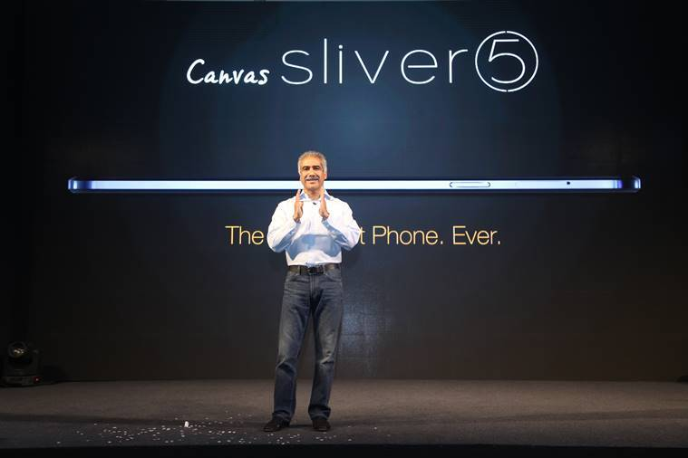 Canvas Sliver 5, Micromax Mobiles, Micromax Canvas Sliver 5, Micromax Canvas, Canvas Sliver 5, micromax silver 5, world slimmest phone, world thinnest phone, micromax launch, micromax new phone launch, micromax sliver launch, sliver launch in india, micromax canvas slim mobile, micromax news, tech news, technology
