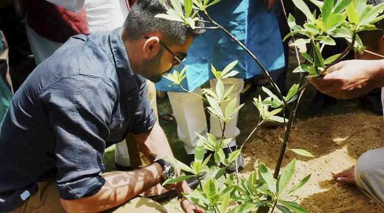 Virat Kohli, Prakash Javadekar, Sushil Kumar, Environment, Environment Day, Sachin Tendulkar