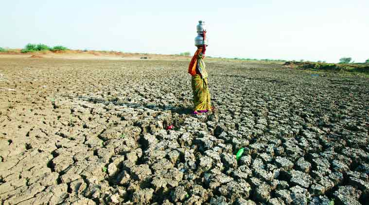water crisis, drought hit areas, drought affected areas, drinking water crisis, water crisis india, india water crisis, centre on water crisis, maharashtra water criris, government water crisis, water resource management challenges, india news